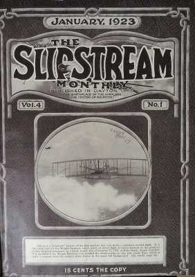 The Slipstream Monthly, January-December, 1923 (Vol. 4, Nos. 1-12) cover